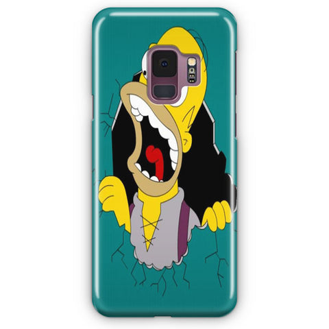 Simpsons Shout Samsung Galaxy S9 Case