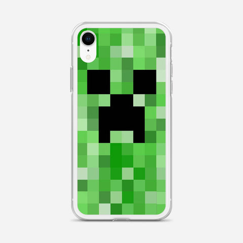 Minecraft Creeper iPhone XR Case