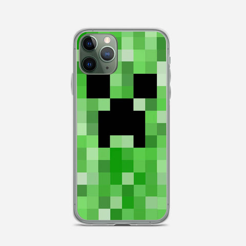 Minecraft Creeper iPhone 11 Pro Case