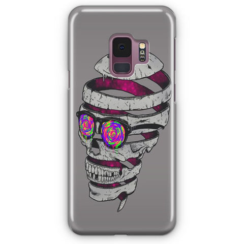 Skull Splash Samsung Galaxy S9 Case