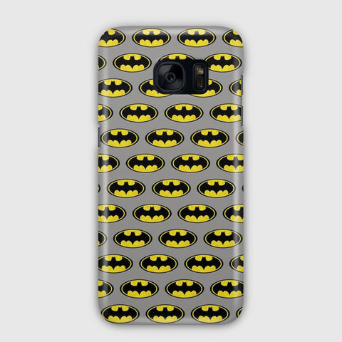 Batman Logo Pattern Samsung Galaxy S7 Case