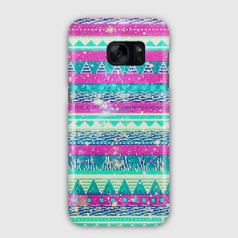 Soft Tribal Galaxy Samsung Galaxy S7 Edge Case