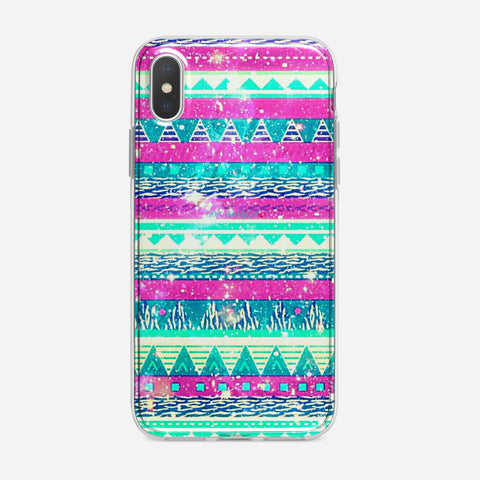 Soft Tribal Galaxy iPhone XS Case