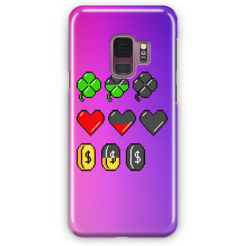 Soft Video Game Stats Samsung Galaxy S9 Case