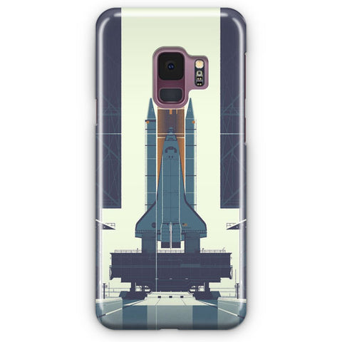 Space Ship Artwork Samsung Galaxy S9 Case