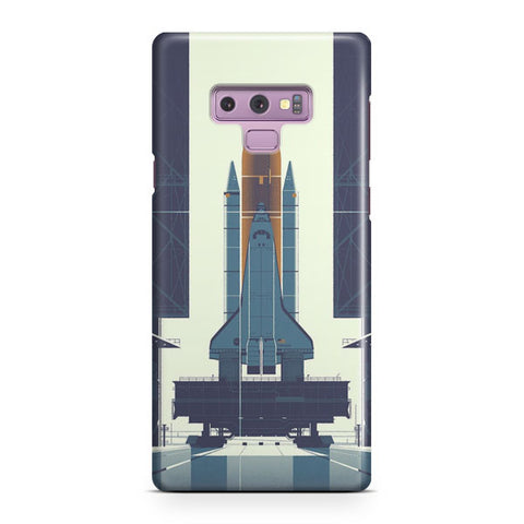 Space Ship Artwork Samsung Galaxy Note 9 Case