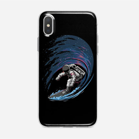 Space Surfing iPhone XS Case