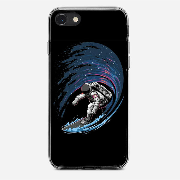 Space Surfing iPhone X Case