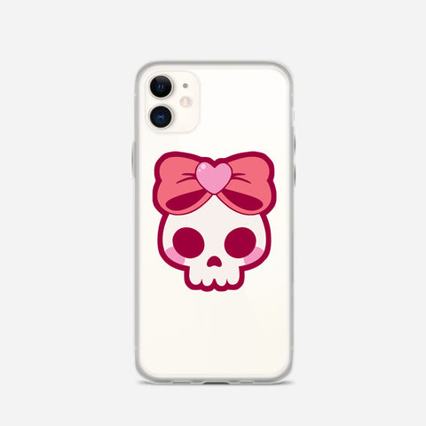Pink Skull iPhone 11 Case