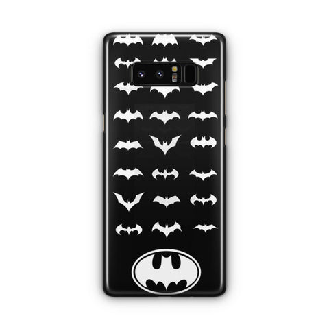 Batman Logos Samsung Galaxy Note 8 Case