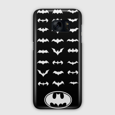Batman Logos Samsung Galaxy S7 Edge Case