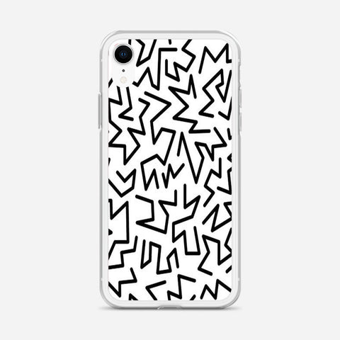 90s Pattern iPhone XR Case