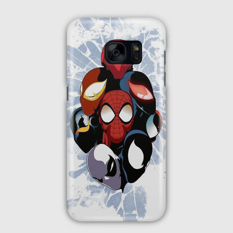 Spiderman Face Artwork Samsung Galaxy S7 Edge Case