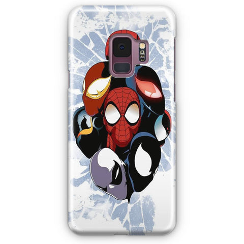 Spiderman Face Artwork Samsung Galaxy S9 Case