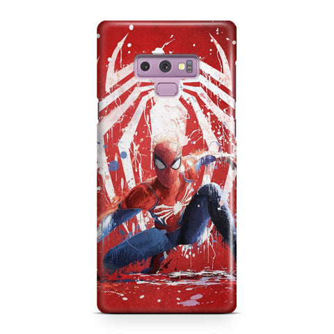 Spiderman Marvel Artwork Samsung Galaxy Note 9 Case