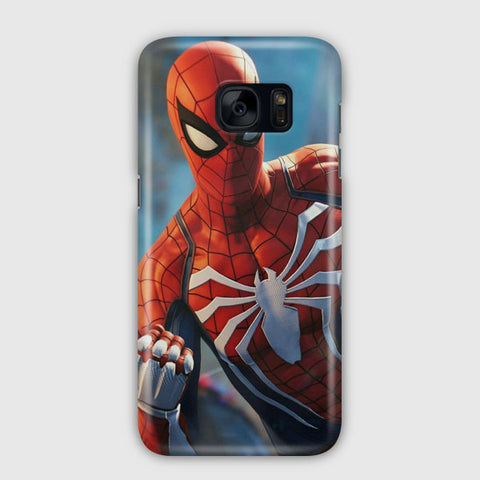 Spiderman Peter Parker Samsung Galaxy S7 Edge Case