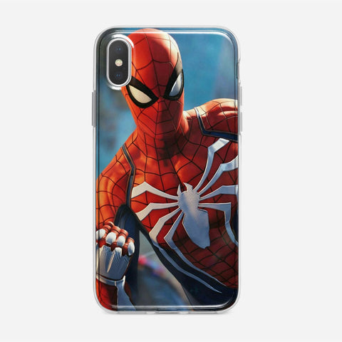 Spiderman Peter Parker iPhone XS Case