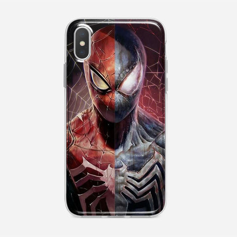 Spiderman x Venom Artwork iPhone XS Max Case