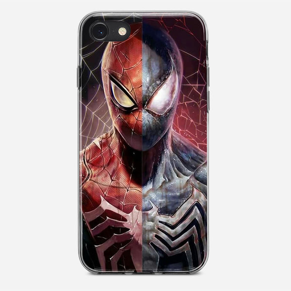 Spiderman x Venom Artwork iPhone X Case