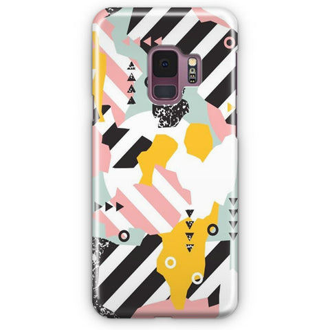 Spliced Geometric Samsung Galaxy S9 Case