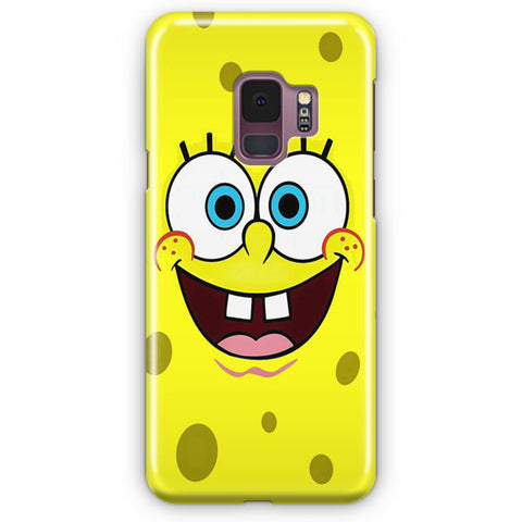 Spongebob Face Samsung Galaxy S9 Case