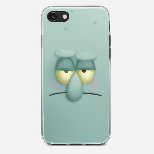Squidward Face iPhone X Case