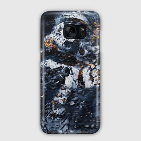 Star Wars Illustration Samsung Galaxy S7 Edge Case