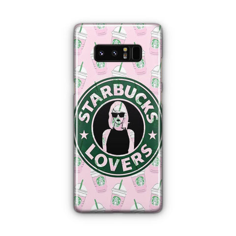 Starbucks Pattern Samsung Galaxy Note 8 Case