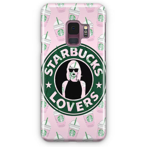 Starbucks Pattern Samsung Galaxy S9 Case