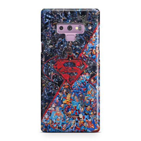Batman v Superman Artwork Samsung Galaxy Note 9 Case