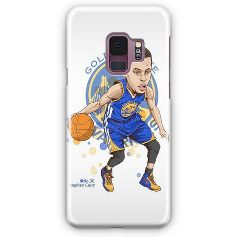 Stephen Curry Artwork Samsung Galaxy S9 Case