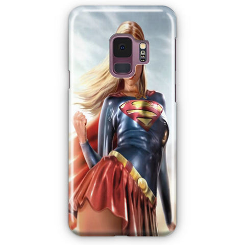 Supergirl Samsung Galaxy S9 Case