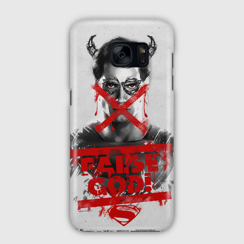 Superman False god Samsung Galaxy S7 Edge Case