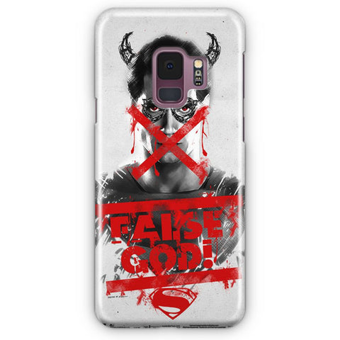 Superman False god Samsung Galaxy S9 Case