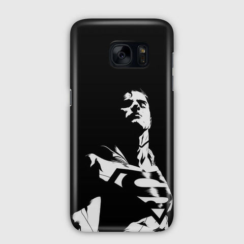 Superman Silhouette Samsung Galaxy S7 Edge Case