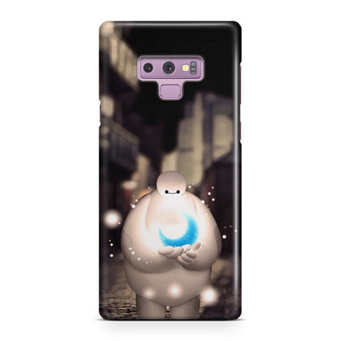 Baymax Holding Moon Dreamy Samsung Galaxy Note 9 Case