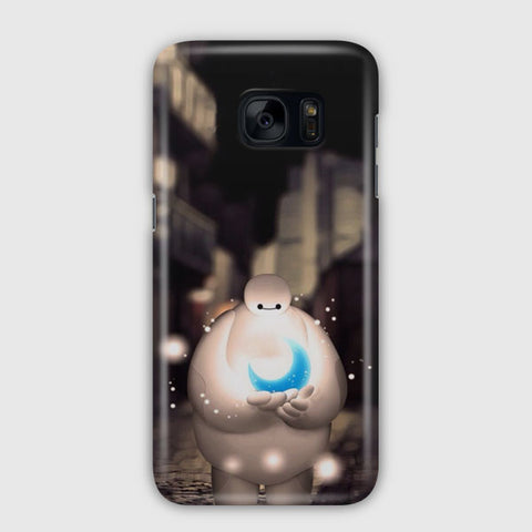 Baymax Holding Moon Dreamy Samsung Galaxy S7 Edge Case