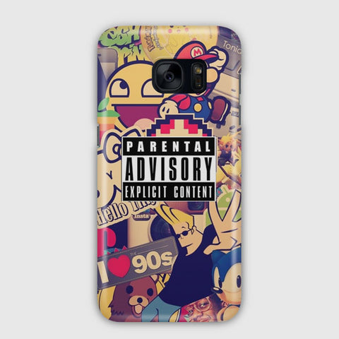 The 90 s Samsung Galaxy S7 Edge Case