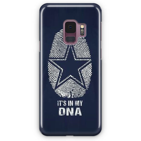 The Blue Star In My DNA Samsung Galaxy S9 Case