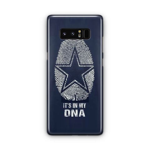 The Blue Star In My DNA Samsung Galaxy Note 8 Case