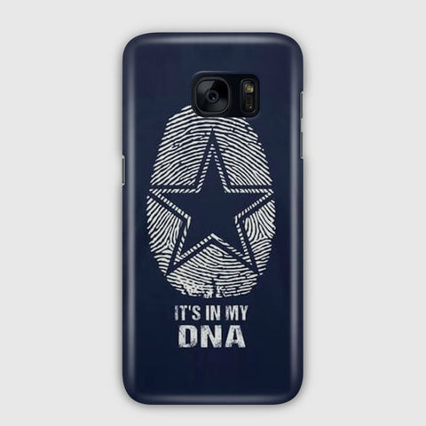 The Blue Star In My DNA Samsung Galaxy S7 Edge Case