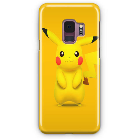 The Cute Pikachu Character Samsung Galaxy S9 Case
