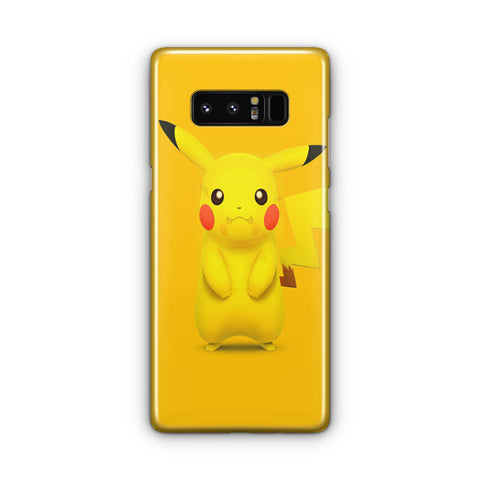 The Cute Pikachu Character Samsung Galaxy Note 8 Case