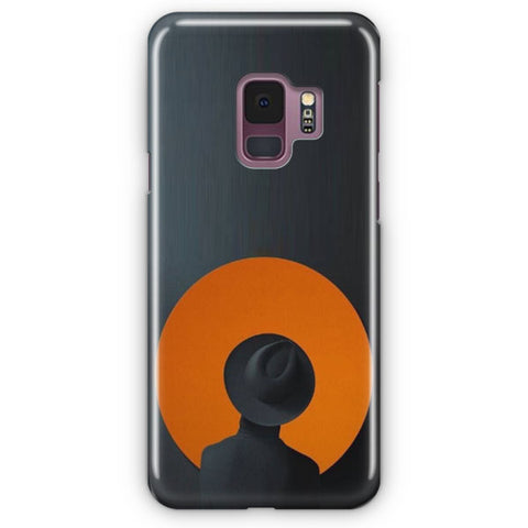 The Darkness A Red Moon Samsung Galaxy S9 Case