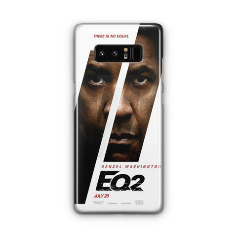 The Equalizer 2 Poster Samsung Galaxy Note 8 Case