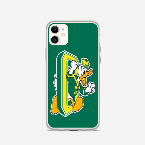 Oregon Ducks Football Team iPhone 11 Case