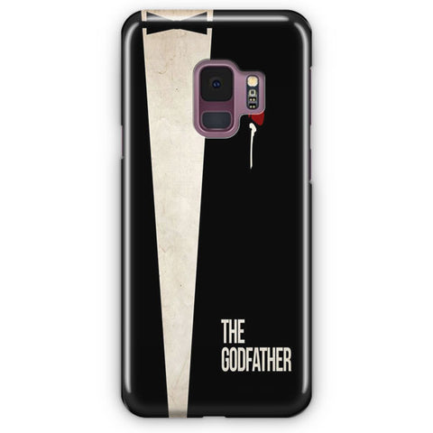 The Godfather Poster Samsung Galaxy S9 Case
