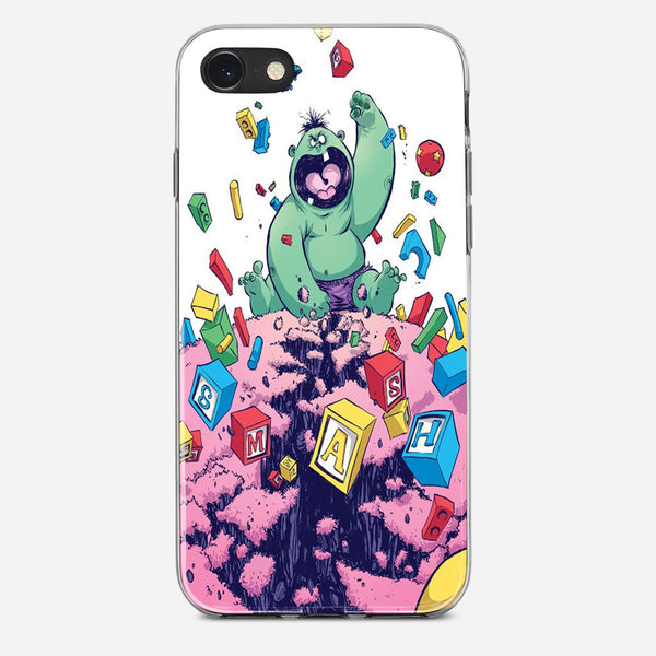 The Indestructible Hulk iPhone X Case