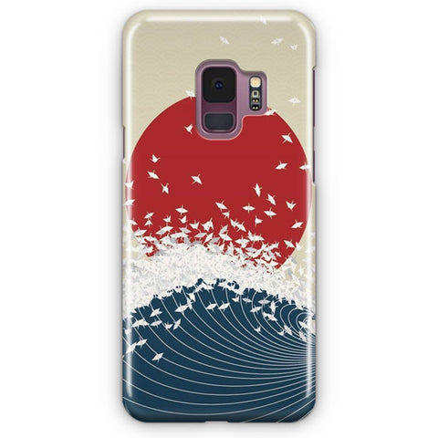 The Japanese Wave Artwork Samsung Galaxy S9 Case