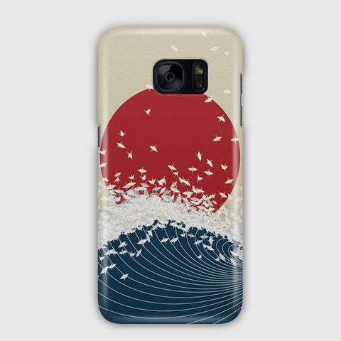 The Japanese Wave Artwork Samsung Galaxy S7 Edge Case